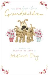 Boofle From Your Grandchildren Mother's Day Greeting Card