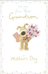 Boofle From Your Grandson Mother's Day Greeting Card