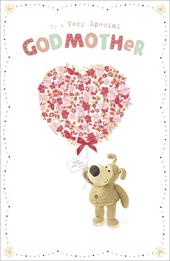 Boofle Very Special Godmother Mother's Day Greeting Card