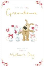 Boofle Just For You Grandma Mother's Day Greeting Card