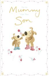 Boofle Mummy From Your Son Mother's Day Greeting Card