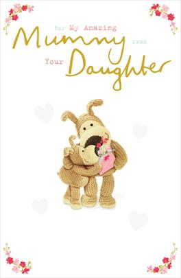 Boofle Mummy From Daughter Mother's Day Greeting Card