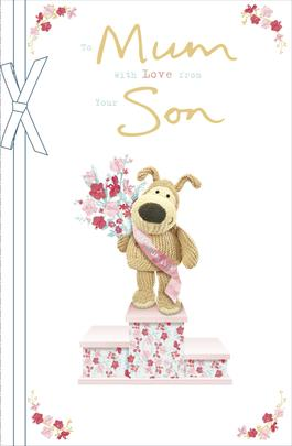 Boofle Mum From Your Son Mother's Day Greeting Card