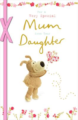 Boofle Mum From Your Daughter Mother's Day Greeting Card