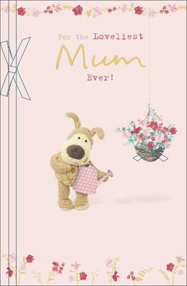 Boofle Loveliest Mum Ever Mother's Day Greeting Card