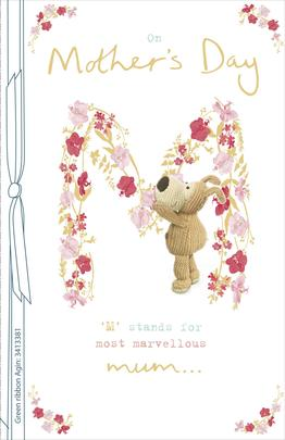 Boofle Most Marvellous Mum Mother's Day Greeting Card