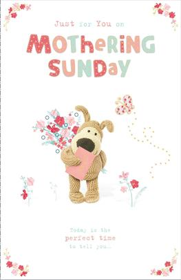 Boofle On Mothering Sunday Mother's Day Greeting Card