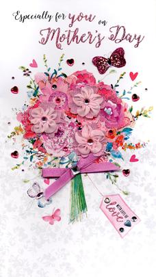Especially For You Boxed Luxury Lavish Mother's Day Card