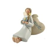 Best Aunt Ever Feather & Grace Angel Figurine Guardian Angel Gift