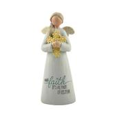 Faith All Part Of His Plan Feather & Grace Angel Figurine Guardian Angel Gift
