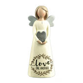 Love One Another Feather & Grace Angel Figurine Guardian Angel Gift