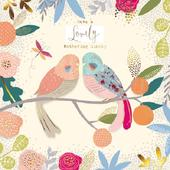 Pretty Foiled Birds Happy Mother's Day Greeting Card