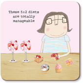 These 5:2 Diets Are Totally Manageable Rosie Made A Thing Coaster