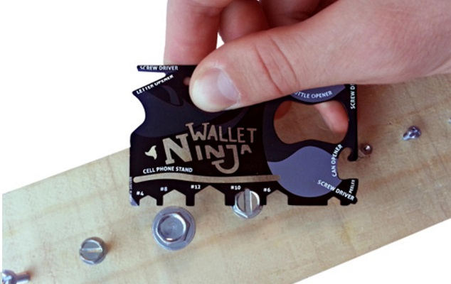 The Wallet Ninja is Handy Ideas No. 5 Gadget for Students