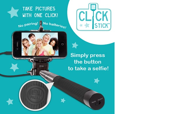 Thumbs Up Selfie Click-Stick