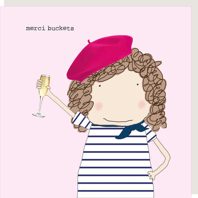 Rosie Made A Thing Merci Buckets Thank You Greeting Card