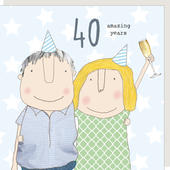 Rosie Made A Thing Amazing Years 40th Anniversary Greeting Card