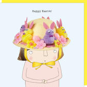 Rosie Made A Thing The Easter Bonnet Happy Easter Card