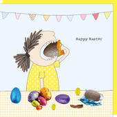 Rosie Made A Thing Easter Egg Hunt Happy Easter Card