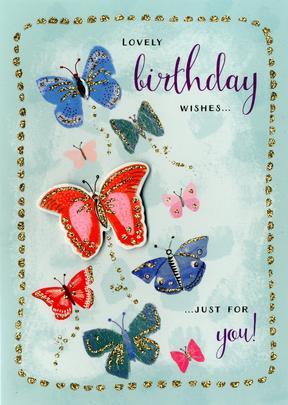 Lovely Birthday Wishes Birthday Greeting Card
