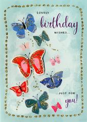 Lovely Birthday Wishes Birthday Greeting Card