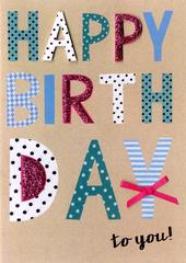 Happy Birthday Female Birthday Greeting Card