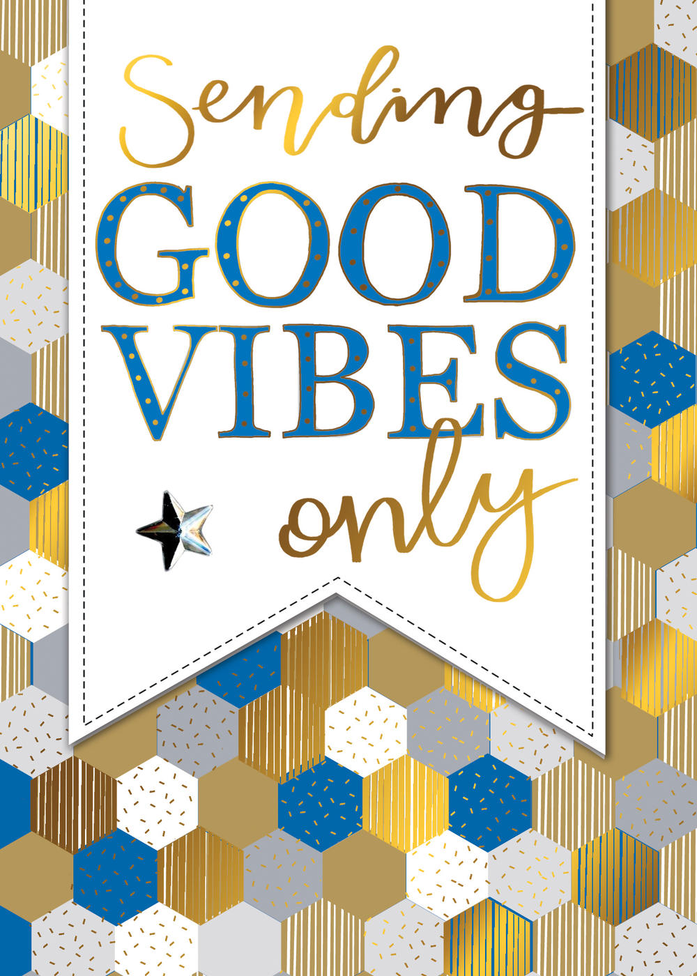 Sending Good Vibes Any Occasion Greeting Card