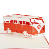 Campervan Pop-Up Any Occasion Greeting Card Blank Inside