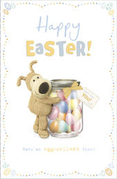 Boofle Egg-Cellent Time Happy Easter Greeting Card