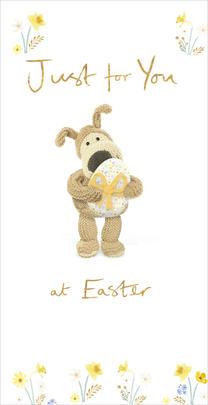 Boofle Just For You At Easter Gift Card