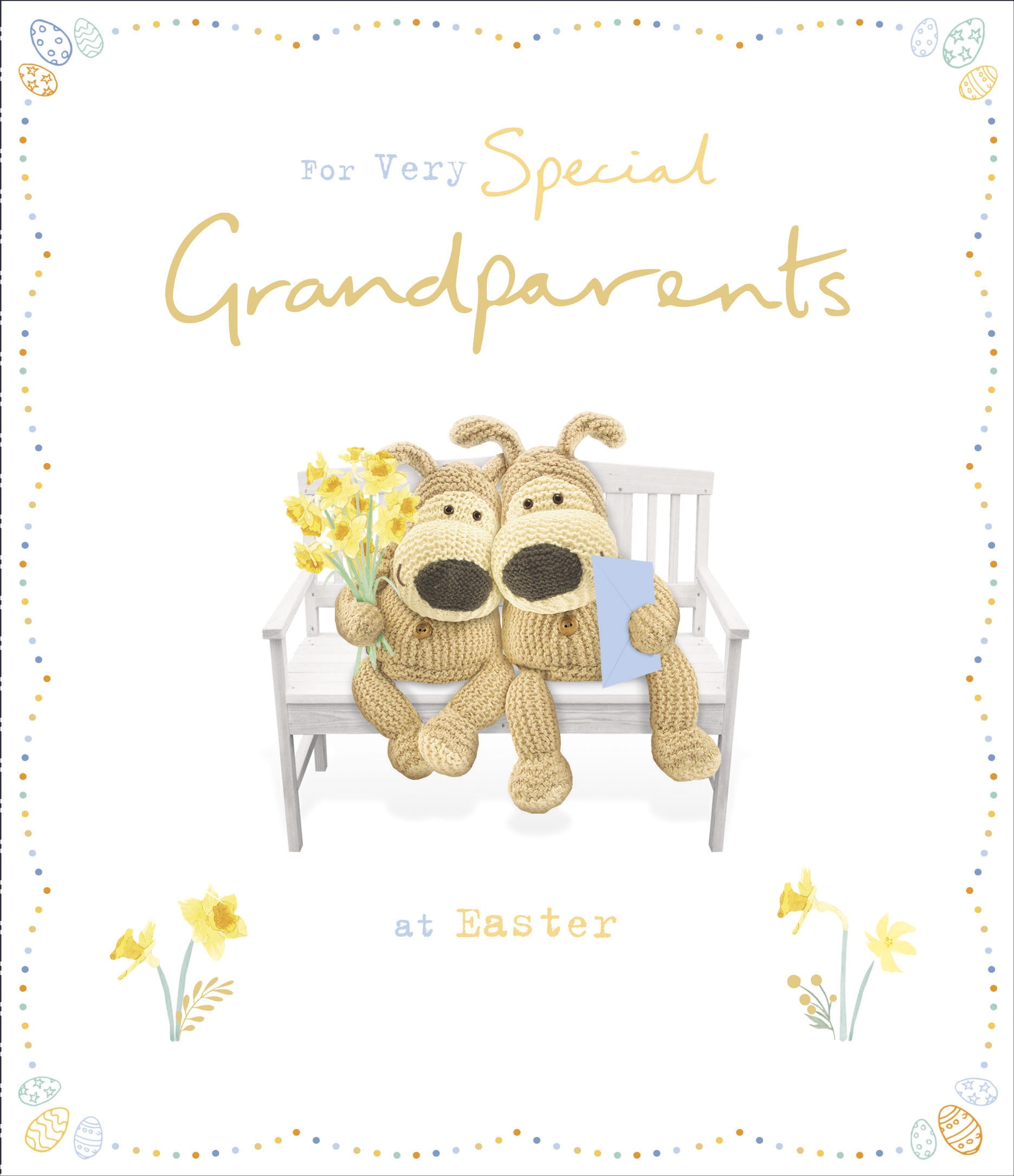 To A Very Special Grandpa Boofle Birthday Card