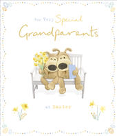 Boofle For Very Special Grandparents Easter Greeting Card