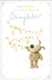 Boofle To A Very Special Daughter Easter Greeting Card