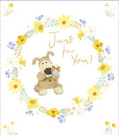 Boofle Just For You Easter Greeting Card