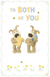 Boofle To Both Of You Easter Greeting Card