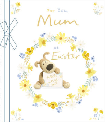 Boofle For You Mum At Easter Greeting Card