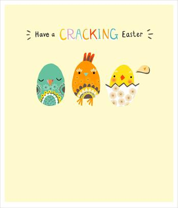 Have A Cracking Easter Cute Greeting Card