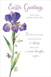 Helen Steiner Rice Easter Verse Greeting Card