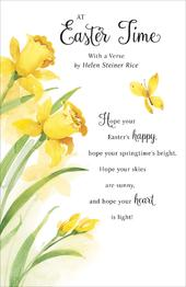 Helen Steiner Rice Easter Time Verse Greeting Card