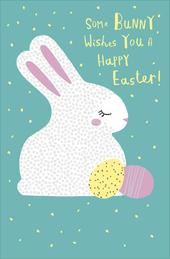 Some Bunny Wishes You A Happy Easter Greeting Card
