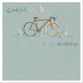Wonderful Son Birthday Greeting Card By The Curious Inksmith