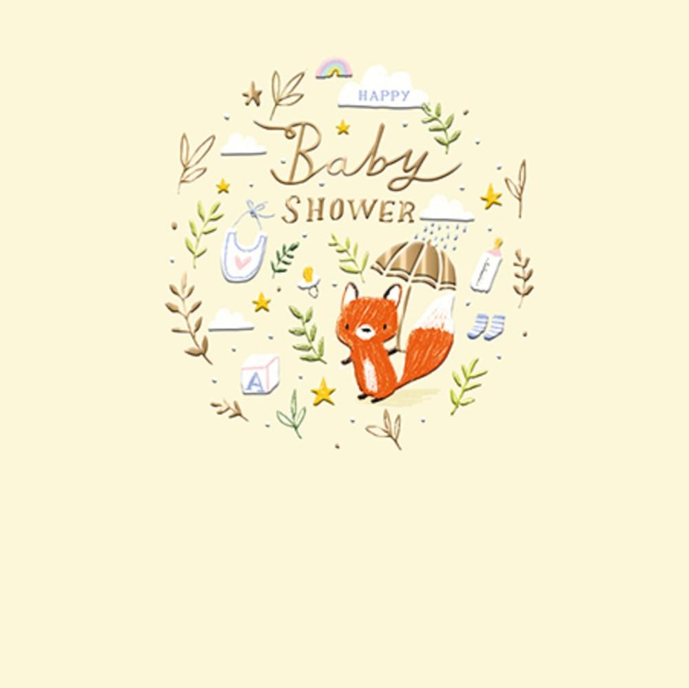 happy baby shower new baby greeting cardthe curious