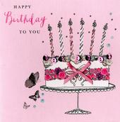 Happy Birthday To You Buttoned Up Greeting Card