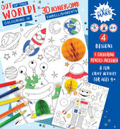 Get Set Make Out Of This World Colouring In Set With Honeycombs