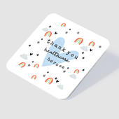 Thank You Healthcare Heroes Coaster Supporting Our NHS