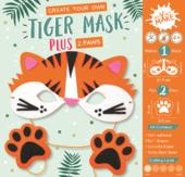 Get Set Make Create Your Own Tiger Mask Felt