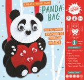 Get Set Make Create Your Own Panda Bag Felt