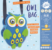 Get Set Make Create Your Own Owl Bag Felt