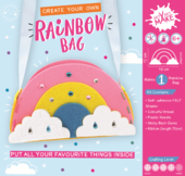 Get Set Make Create Your Own Rainbow Bag Felt