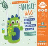 Get Set Make Create Your Own Dino Bottle Bag Felt